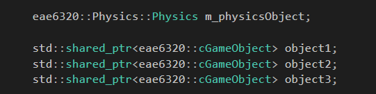 PhysicsDeclaration